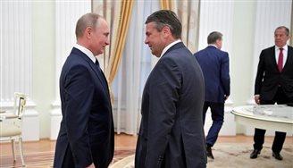 Sigmar Gabriel spricht mit Kreml-Propaganda Nachrichtenkanal