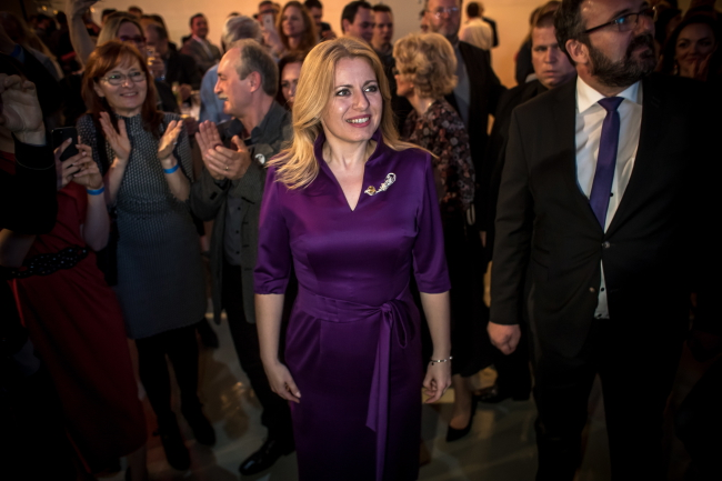Переможниця президентських виборів у Словаччині Зузана Чапутова