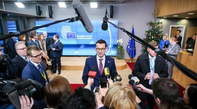 Прем'єр Польщі Матеуш Моравєцький