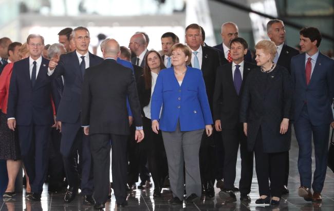 У Брусэлі пачаўся саміт NATO, 11.07.2018, Брусэль