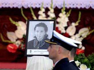 Funeral with honours for Polish resistance members killed by communists