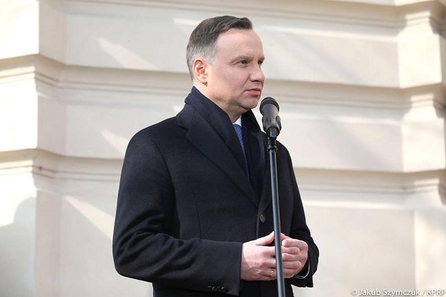 Andrzej Duda. Photo: Jakub Szymczuk/KPRP