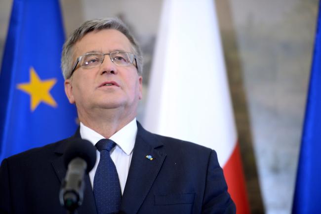 Polish President Bronisław Komorowski. Photo: PAP/Jacek Turczyk