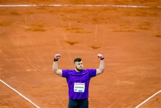 Poland's Konrad Bukowiecki takes silver and sets record