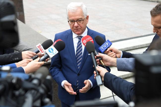 Міністр закордонних справ Польщі Яцек Чапутович