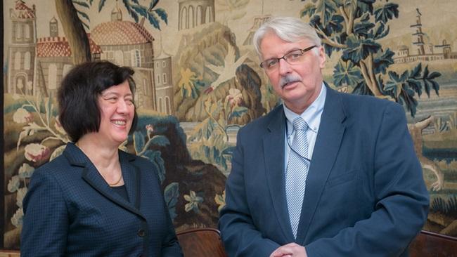 Йоанна Вронецкая заняла пост заместителя государственного секретаря в МИД Польши в ноябре 2016 года.