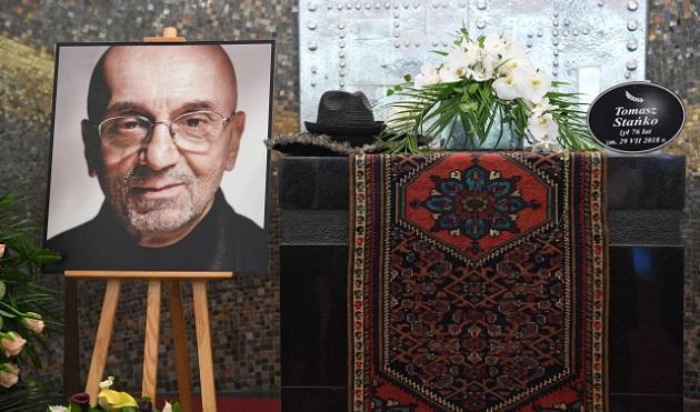 Траурная церемония прощания с Томашем Станько