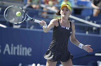 Radwanska into round 2 of US Open