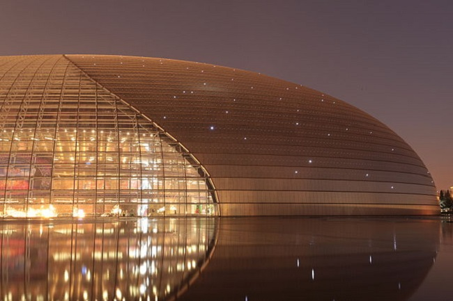 The National Centre for the Performing Arts in Beijing. Photo: Evilbish/Wikimedia Commons (CC BY-SA 3.0)