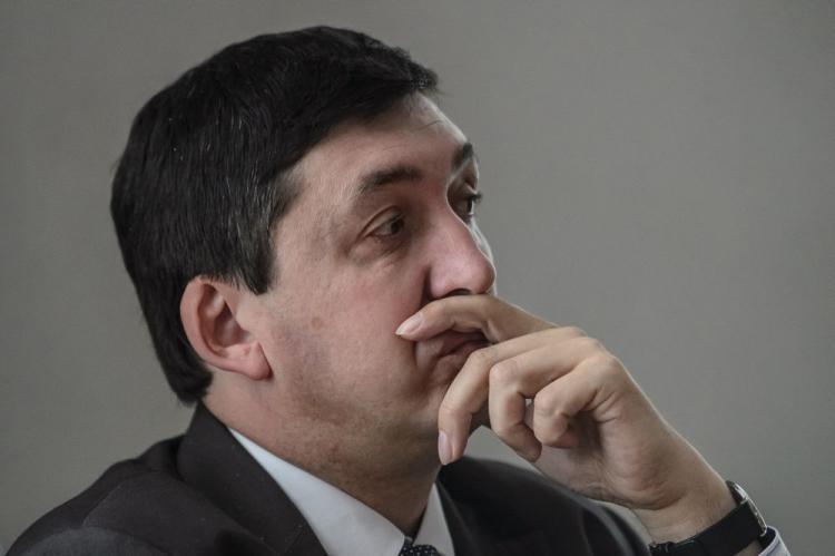 Prof. Marek Kornat, Historiker und Politikwissenschaftler an der Polnischen Akademie der Wissenschaften PAN