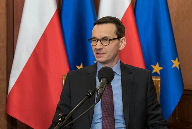 Premier Mateusz Morawiecki.  Foto: Wojciech Kusiński/PR