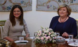 First Lady Anna Komorowska backs asylum for Syrian Christians