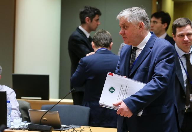 Міністр сільського господарства Польщі Кшиштоф Юрґєль