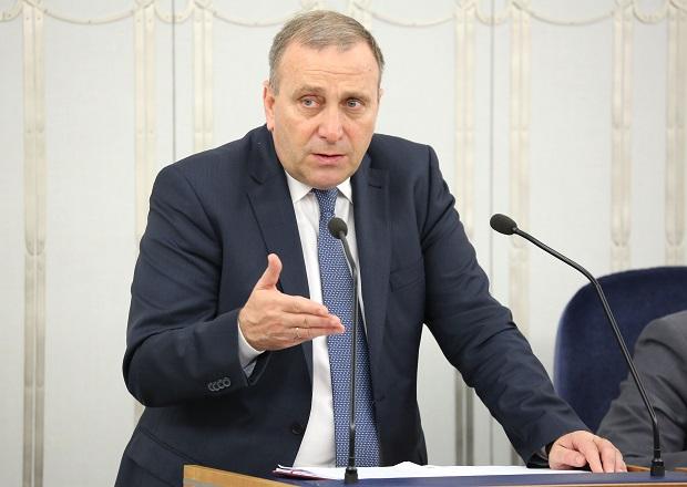 Anführer der oppositionellen Partei Bürgerplattform (PO) Grzegorz Schetyna