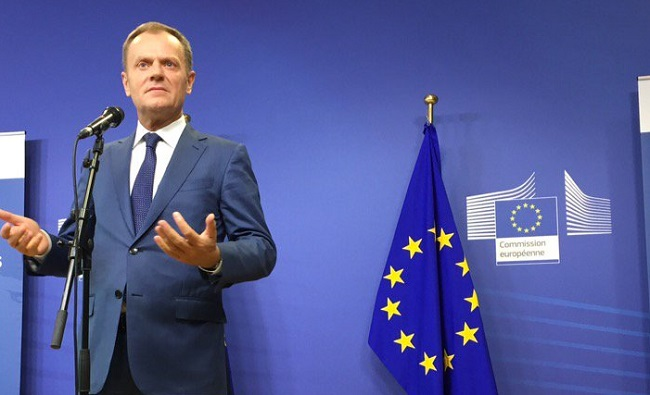 Donald Tusk. Photo: Twitter.com/eucopresident