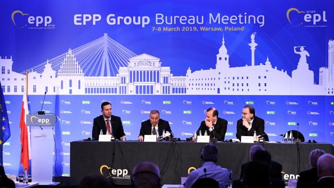 У Варшаві відбулося засідання найбільшої фракції в Європарламенті