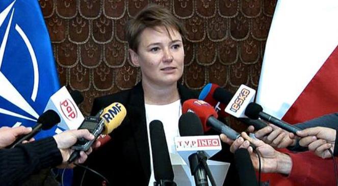 Заступник директора Оперативного центру Міністерства оборони Польщі Беата Перковська