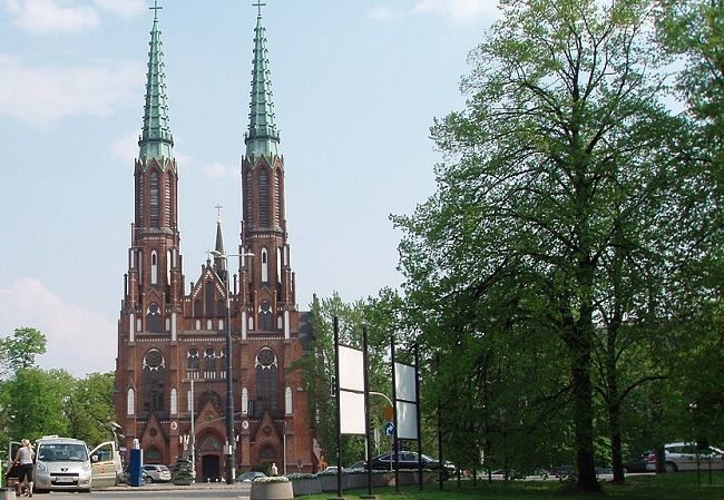 Warsaw's Saint Florian's Cathedral. Photo: No Mister/Wikimedia Commons (CC BY 3.0)