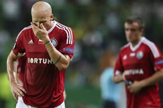 Football: Poland's Legia loses 0:2 in Champions League
