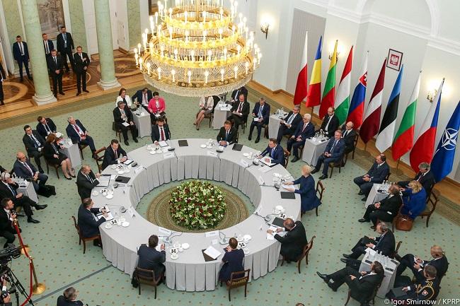 The Bucharest Nine summit in Warsaw. Photo: prezydent.pl