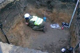 Human bones found during Warsaw Metro excavations