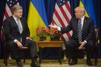 Петро Порошенко провів зустріч з Дональдом Трампом
