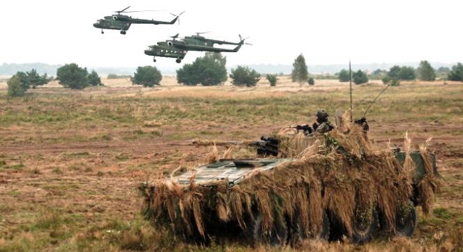 На півночі Польщі тривають військові навчання
