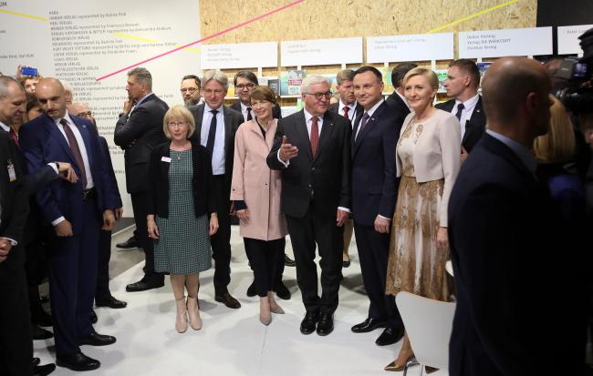 Відкриття німецької частини на VIII Варшавському книжковому ярмарку, 19 травня 2017 року