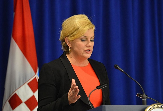Croatian President Kolinda Grabar-Kitarović. Photo: US State Department (Public Domain)
