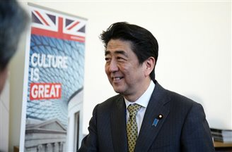 EU chiefs in talks with Japanese PM