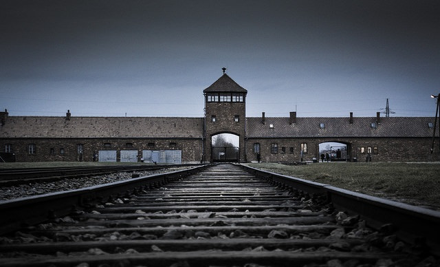 The Auschwitz Nazi-German death camp. Photo: Flickr.com/Adam Tas