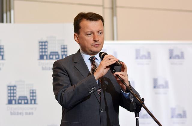 Mariusz Błaszczak. Photo: mswia.gov.pl