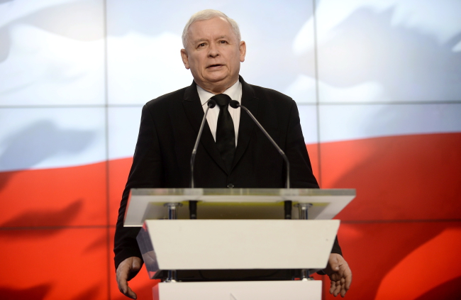 Chairman of the Law and Justice party Jarosław Kaczyński, Photo: PAP/Bartłomiej Zborowski