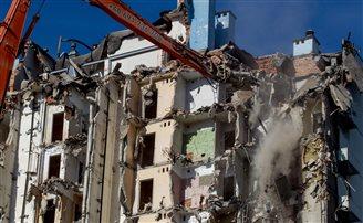Colossal Cold War era hotel demolished