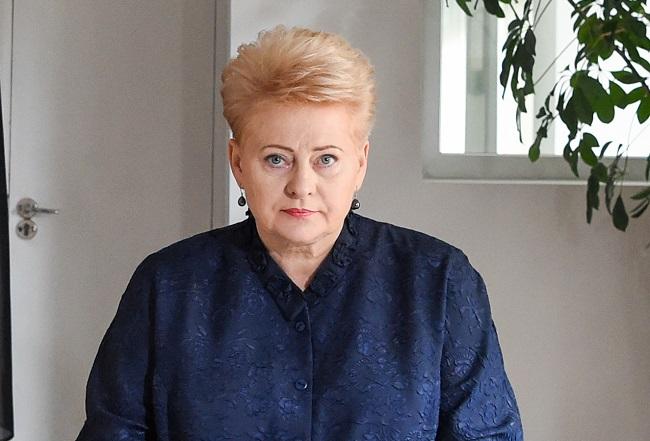 Dalia Grybauskaite. Photo: Robertas Dackus/President of the Republic of Lithuania