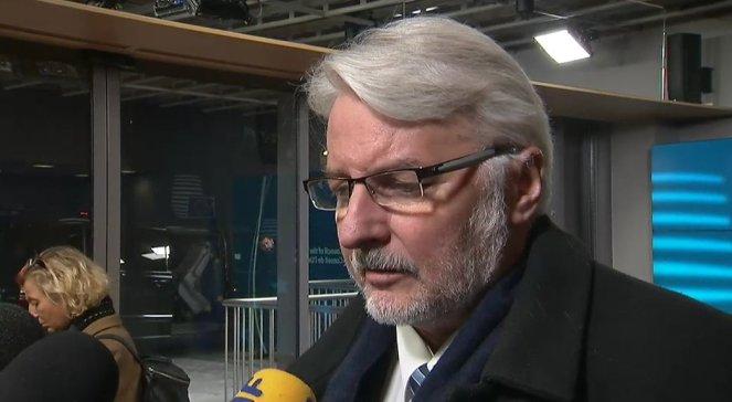 Außenminister Witold Waszczykowski