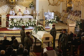 Funeral for Polish missionary murdered in Bolivia