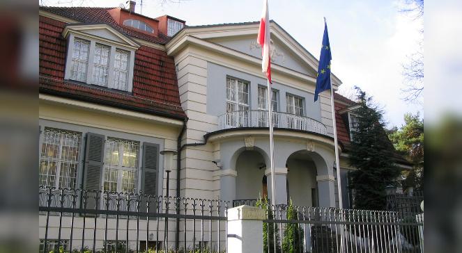 Budynek ambasady Polski w Berlinie