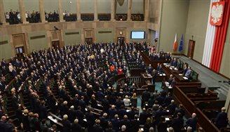 Das Parlament gedachte Adamowicz mit einer Schweigeminute