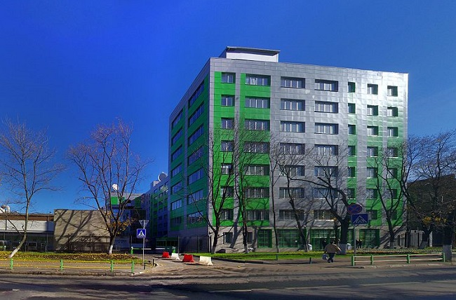Russia Today's Moscow studio building. Photo: Wikimedia Commons/Artem Svetlov.