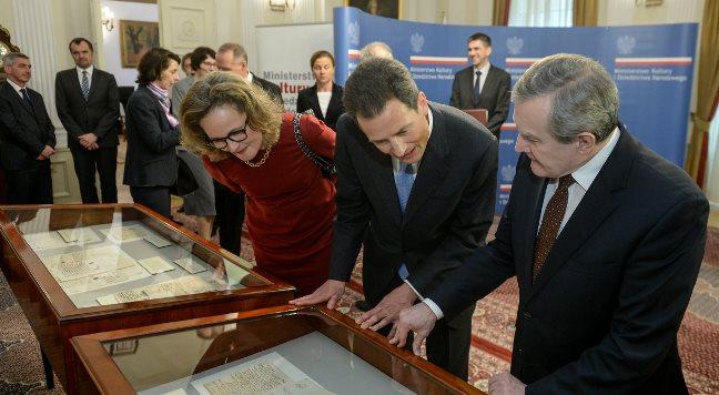 Wymiana materiałów archiwalnych z Księstwem Liechtensteinu
