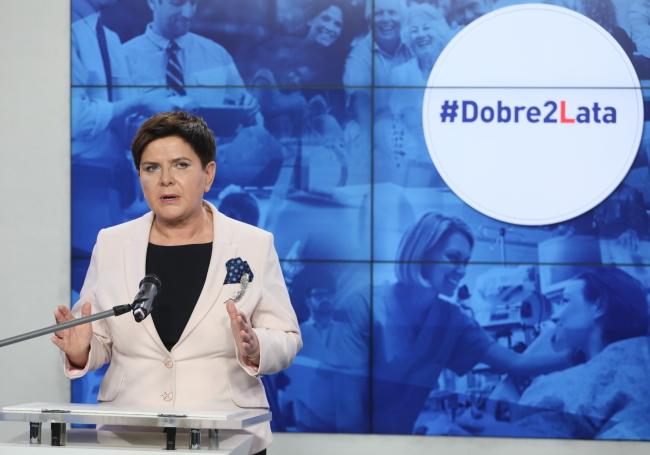 Польська прем'єрка Беата Шидло, 14 листопада 2017 року
