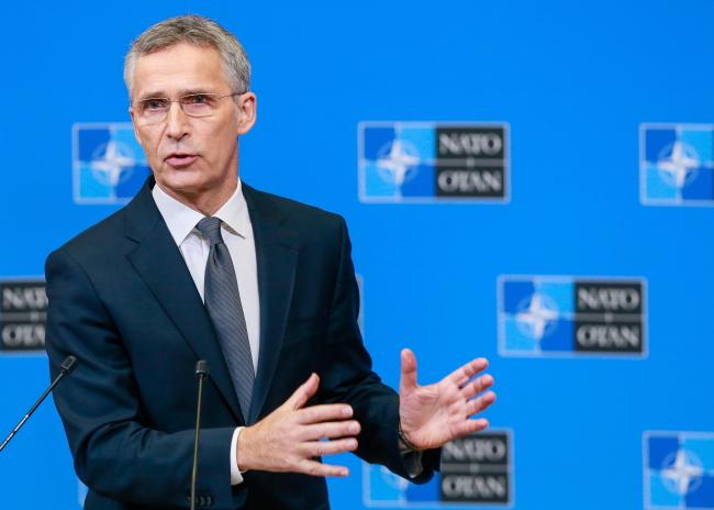 Генэральны сакратар НАТО Енс Столтэнбэрг