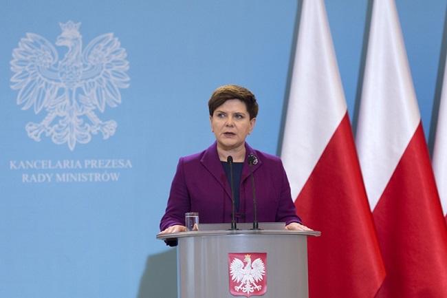 Polish Prime Minister. Photo: KPRM