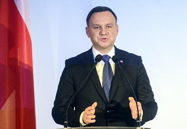 Andrzej Duda. Photo: PAP/Jakub Kamiński.