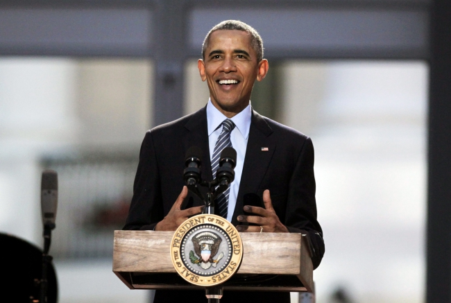 US President Barack Obama will visit Warsaw in July. Photo: EPA/AUDE GUERRUCCI/POOL