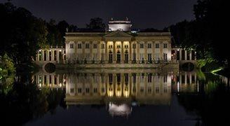 В варшавском парке Королевские Лазенки стартовал Фестиваль Света