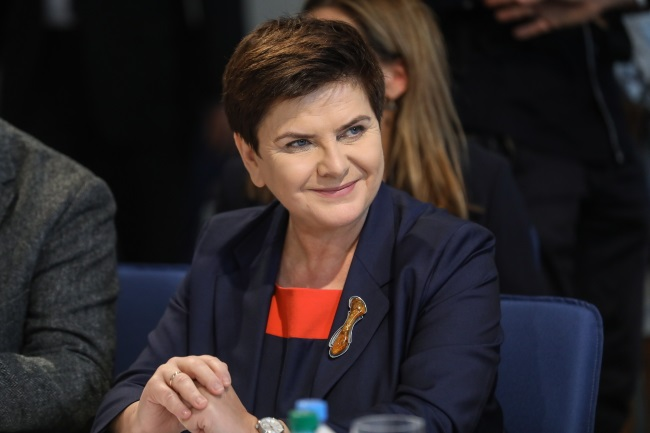 Polish PM Beata Szydło. Photo: PAP/Rafał Guz