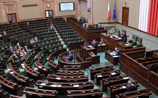 Зала засідань Сейму Польщі