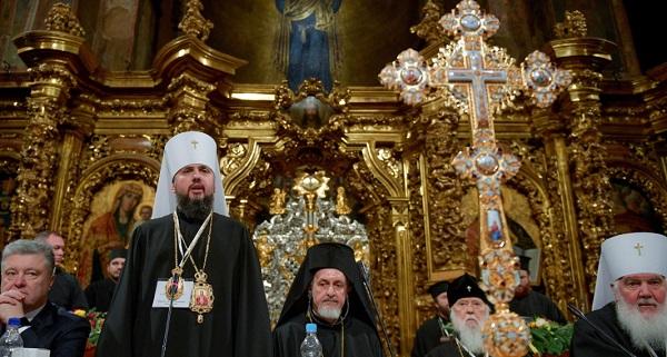 Предстоятель Православной церкви Украины митрополит Епифаний